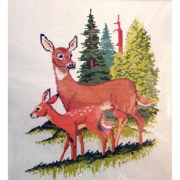 Embroidery Kit 1685 Doe Fawn 12 x 14